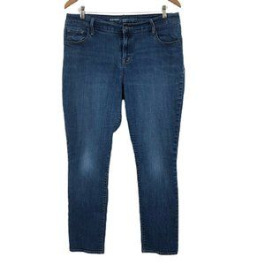 Old Navy Skinny Jeans Curvy Profile Mid Rise 14S